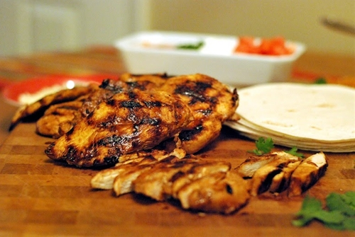 Grilled Fajita Marinade for Beef or Chicken
