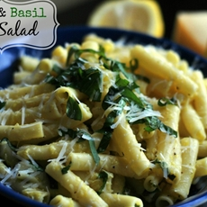 Lemon Basil Pasta Salad