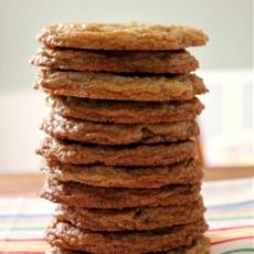 Whole Wheat Milk Chocolate Chip Cookies