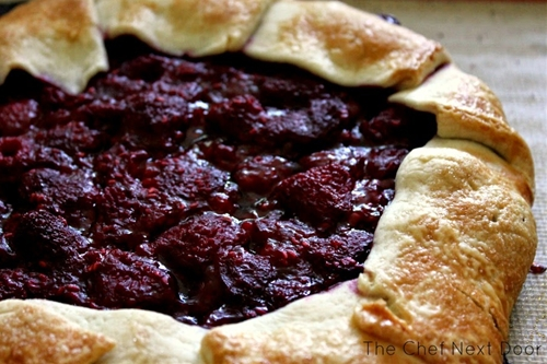 Simple Raspberry Crostata
