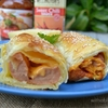 Puff-Pastry Baked hotdogs
