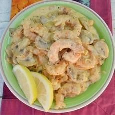 Shrimp and Mushroom Casserole