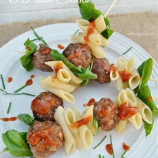 Italian Meatball and Pasta Sticks