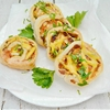 Bacon and Cheese Crispy Pinwheels