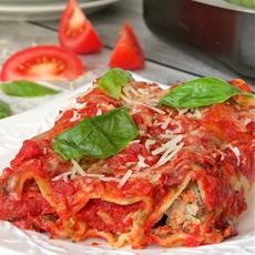 Chicken, Spinach and Ricotta Cannelloni