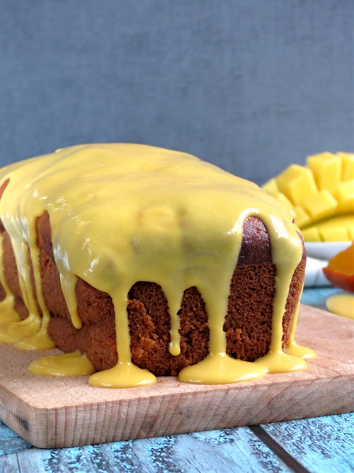 Mango & Pumpkin Bread With Mango Curd