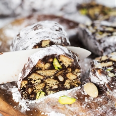 Chocolate Salami (No
