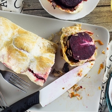 Vegetable Wellington (with Beets & Goat Cheese)