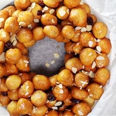 Italian Honey Balls (Struffoli)