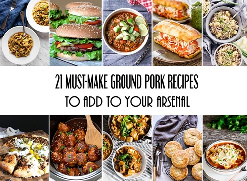 21 Must-Make Ground Pork Recipes