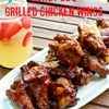Grilled Chicken Wings Two Ways: Honey BBQ & Garlic Parmesan
