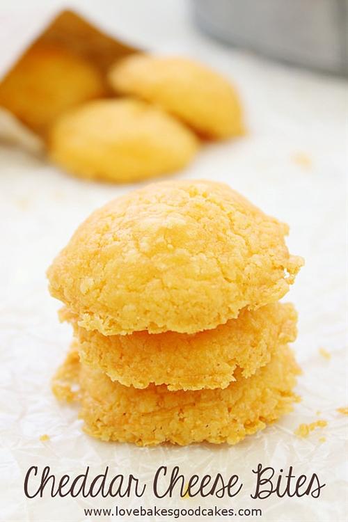 Cheddar Cheese Bites