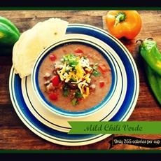 Mild pork chili verde