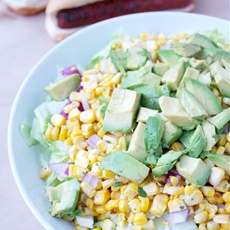 Corn Avocado Salad