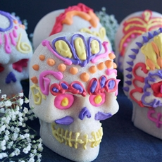 How to Make Sugar Skulls For Day of the Dead