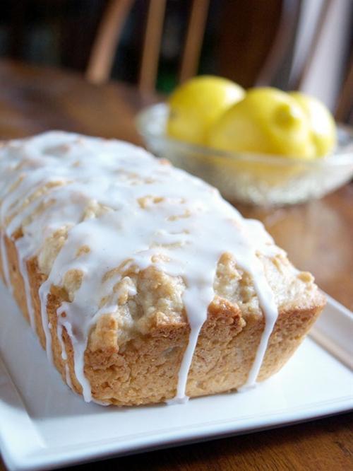 Coconut Lemon Bread (Quick Bread Recipe)