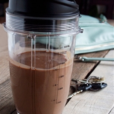 Coffee Smoothie (with chocolate so its more like a Mocha Smoothie)