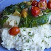 "Baked Tilapia with Mashed ""Caulitaters"""
