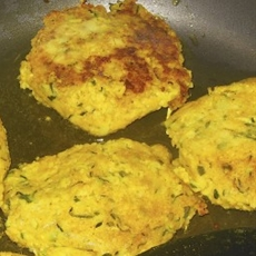 Delicious Couscous and Shredded Zucchini Cakes