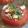 Delicious Baked Tomatoes with Feta & Basil