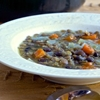 Slow Cooker Lentil and Black Bean Soup