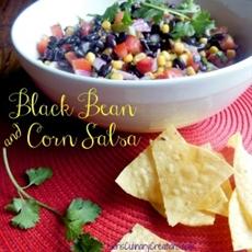 Delicious Black Bean and Corn Salsa