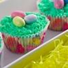 Birds Next Easter Cupcakes