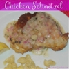 Chicken Schnitzel with Two Toppings