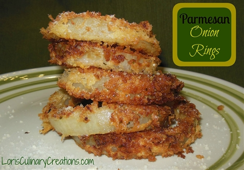 Amazing Parmesan Onion Rings
