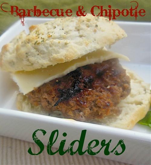 Barbecue & Chipotle Sliders