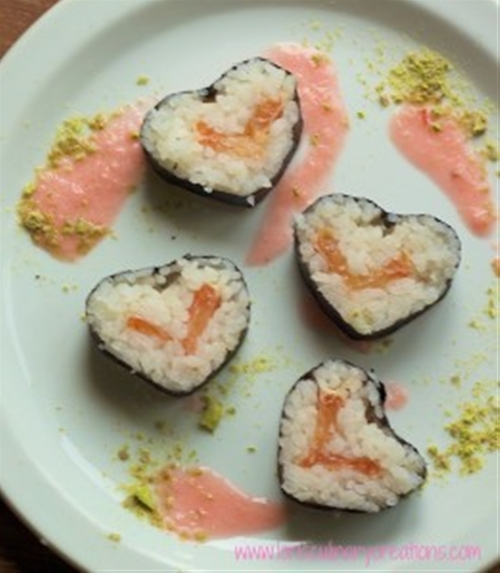 Goddess of Love Spicy Dessert Sushi