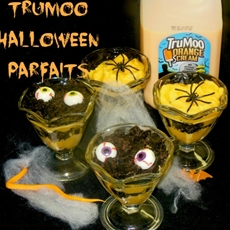 TruMoo Orange Scream Spooky Halloween Parfaits