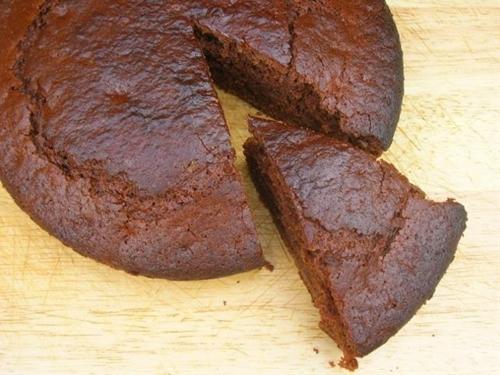 Chocolate Banana Honey Cake for £1 (vegan)