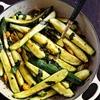 Braised Zucchini with Sun Gold Cherry Tomatoes & Basil