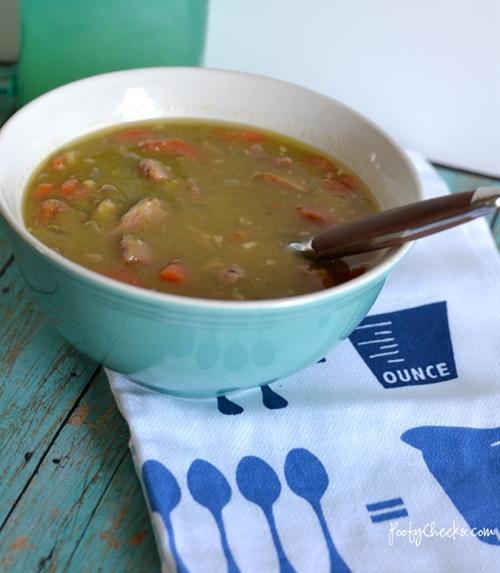 Leftover Ham Split Pea Soup