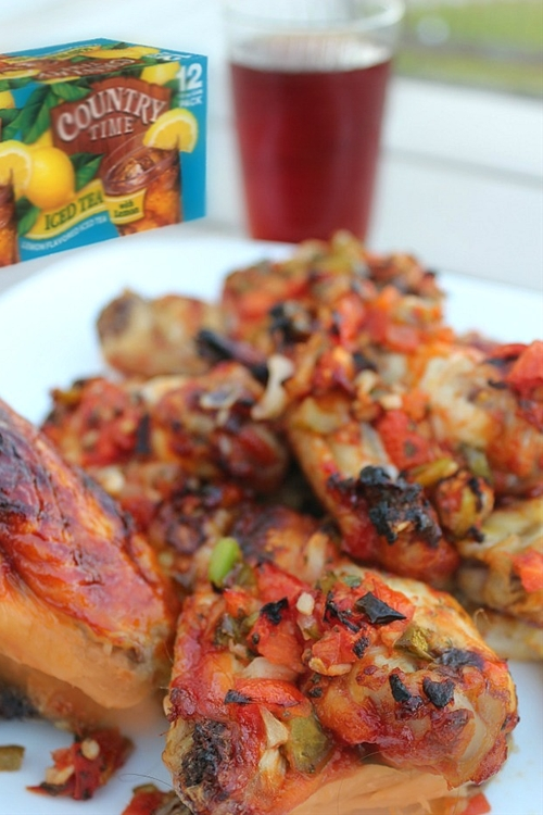 Easy Party Food with Tyson Grillin' Wings