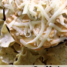 Buffalo ranch grilled chicken dip