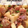 German red potatoes with pistachios recipe