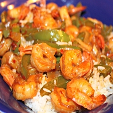Sweet and Sour Shrimp Stir Fry