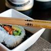 Cucumber Salmon Sushi Rolls with Chili Garlic Soy Sauce