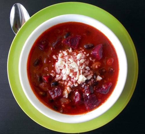 Vegetarian Beet Chili