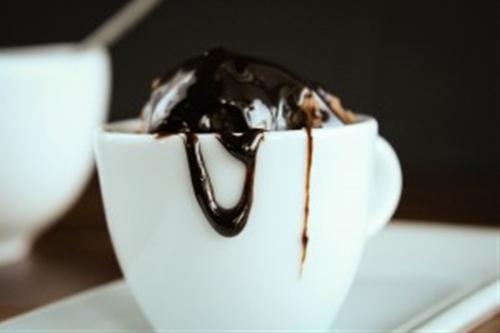 Chocolate balsamic hot fudge sauce
