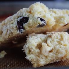 Double chocolate chip scones