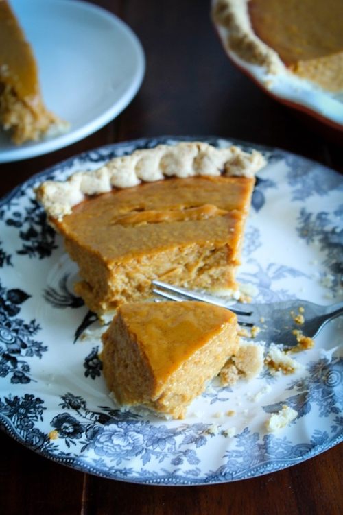 Love it pumpkin pie