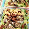 Pecan Crusted Chicken Salad with Apples & Bacon