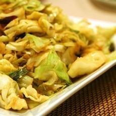 Bengali Cabbage Stir Fry