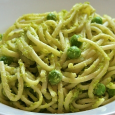 Pasta with Peas Pesto