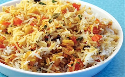Kabuli Chana Biryani Recipe