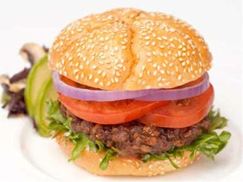 Rajma (Red Kidney Beans) Burger