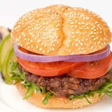 Rajma (Red Kidney Beans) Burger